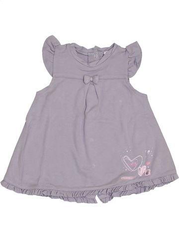Vestido niña LES BEBES SONT COMME ÇA gris 6 meses invierno #1411534_1