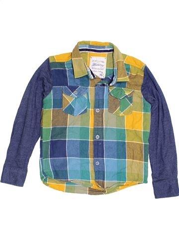 Chemise manches longues garçon MANTARAY bleu 6 ans hiver #1411636_1