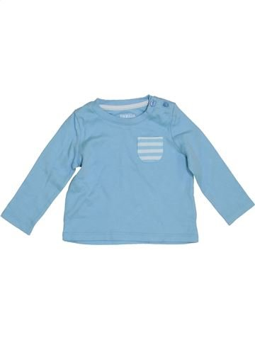 Camiseta de manga larga niño LUPILU azul 6 meses invierno #1411763_1