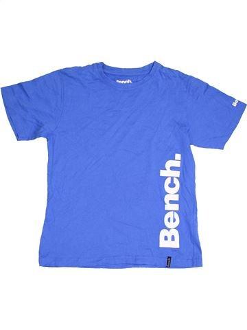 T-shirt manches courtes garçon BENCH bleu 13 ans été #1411795_1