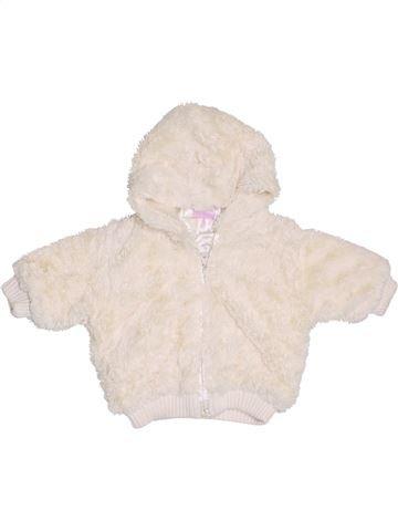 Veste fille CHEROKEE blanc 6 mois hiver #1411988_1