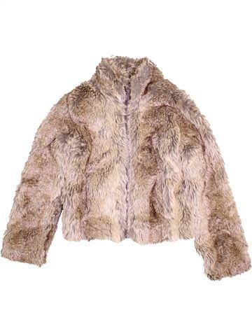 Manteau fille SOPHIE beige 12 ans hiver #1412141_1