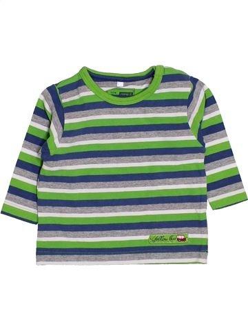 T-shirt manches longues garçon NAME IT vert naissance hiver #1412544_1
