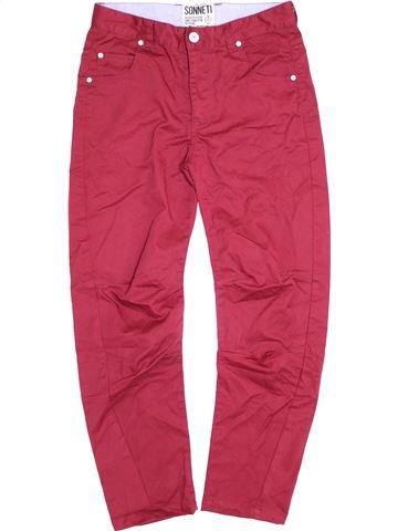 Pantalon garçon SONNETI rose 13 ans hiver #1412692_1