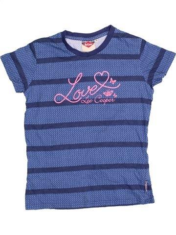 T-shirt manches courtes fille LEE COOPER bleu 13 ans été #1412757_1