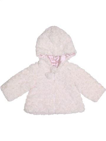 Manteau fille JASPER CONRAN blanc 6 mois hiver #1413112_1