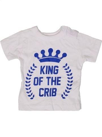 Camiseta de manga corta niño PEP&CO blanco 3 meses verano #1413624_1