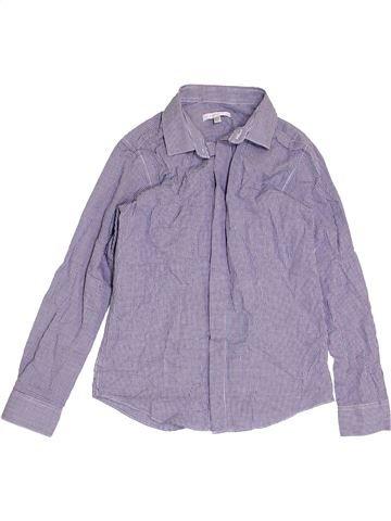 Chemise manches longues garçon JOHN ROCHA violet 9 ans hiver #1413970_1