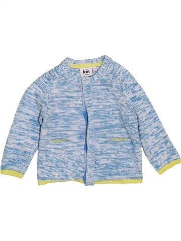 Chaleco niño JOHN LEWIS azul 9 meses invierno #1414541_1