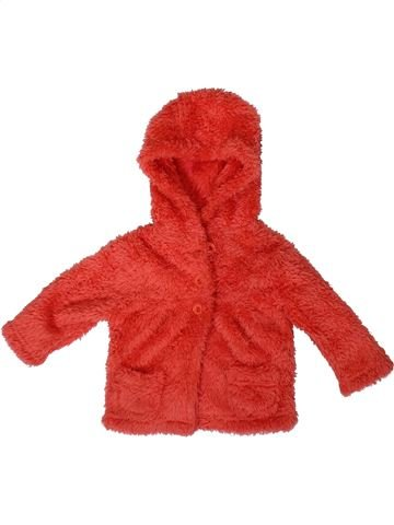 Gilet fille BABY rouge 3 mois hiver #1415165_1
