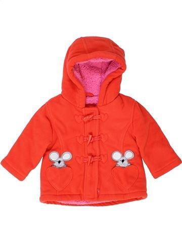 Abrigo niña DEBENHAMS naranja 9 meses invierno #1415281_1