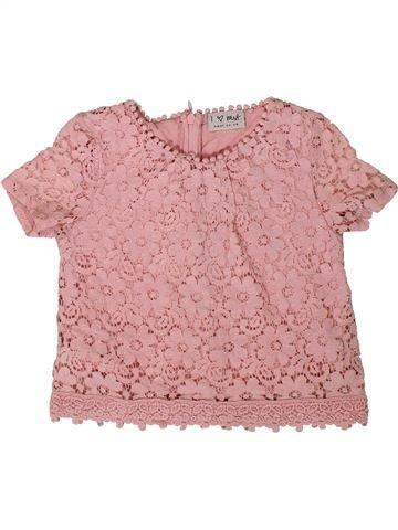 Blusa de manga corta niña NEXT rosa 7 años verano #1416136_1