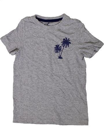 Camiseta de manga corta niño LUPILU gris 6 años verano #1417051_1