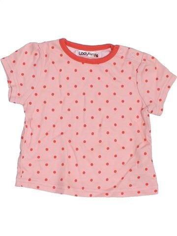 Camiseta de manga corta niña LADYBIRD rosa 3 meses verano #1417209_1