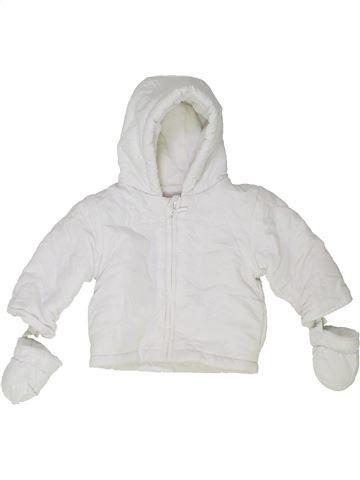 Manteau fille BAMBINI blanc 1 mois hiver #1417599_1