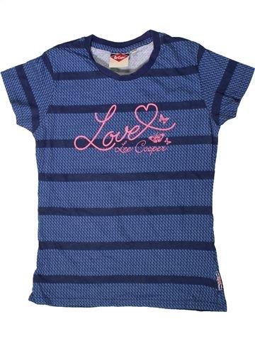 T-shirt manches courtes fille LEE COOPER bleu 12 ans été #1417743_1
