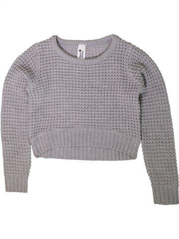 jersey niña C&A gris 10 años invierno #1417917_1