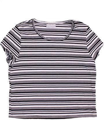 T-shirt manches courtes fille I LOVE GIRLSWEAR blanc 12 ans été #1417984_1