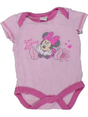 T-shirt manches courtes fille PRIMARK rose naissance été #1417989_1