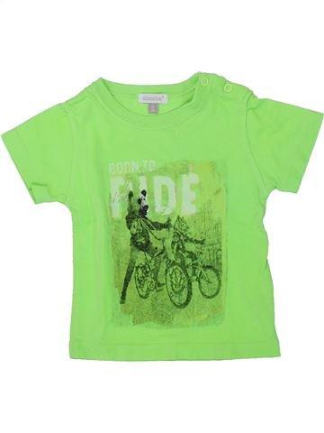 Camiseta de manga corta niño ABSORBA verde 6 meses verano #1418765_1