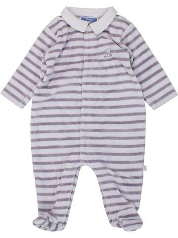 Pijama de 1 pieza niño JACADI blanco 3 meses invierno #1419086_1
