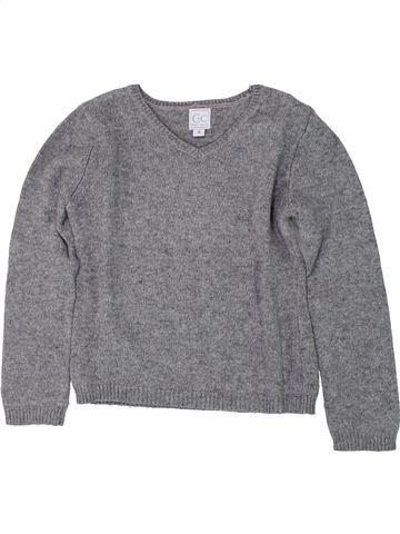 Pull garçon C DE C gris 4 ans hiver #1419276_1