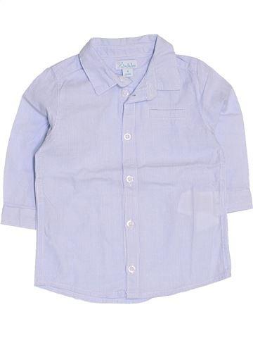 Camisa de manga larga niño KIMBALOO azul 6 meses invierno #1419565_1