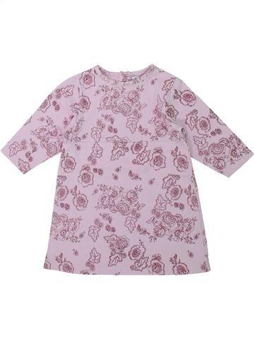 Robe fille OKAIDI rose 6 mois hiver #1419740_1