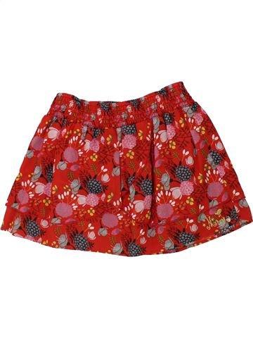 Falda niña MARÈSE rojo 10 años invierno #1420030_1