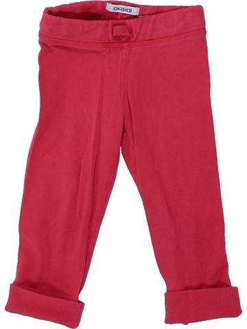 Pantalon fille OKAIDI rose 2 ans hiver #1420149_1