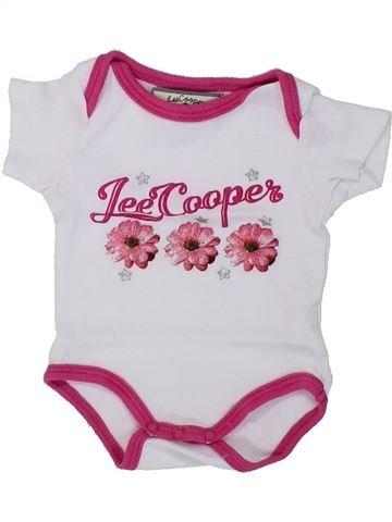 T-shirt manches courtes fille LEE COOPER blanc 3 mois été #1420323_1