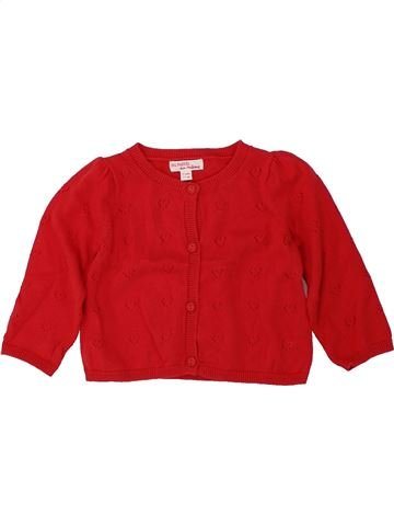Chaleco niña DPAM rojo 9 meses invierno #1420545_1
