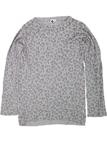 Pull fille GENERATION Z gris 10 ans hiver #1420724_1