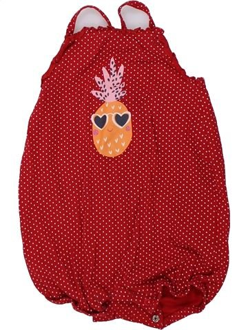 Combinación corta niña DPAM rojo 18 meses verano #1421218_1