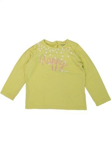 Camiseta de manga larga niña VERTBAUDET verde 3 años invierno #1421421_1