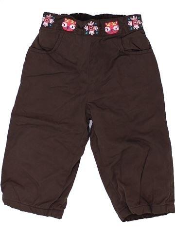 Pantalón niña DPAM marrón 12 meses invierno #1421472_1