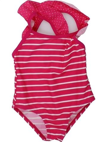 Bañador niña VERTBAUDET rosa 12 meses verano #1421485_1