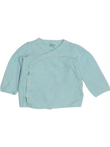Chaleco niño VERTBAUDET azul 9 meses invierno #1421500_1