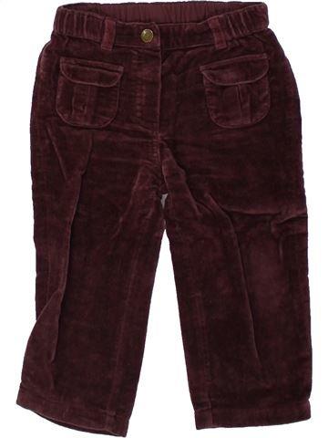 Pantalon fille GRAIN DE BLÉ marron 18 mois hiver #1421573_1