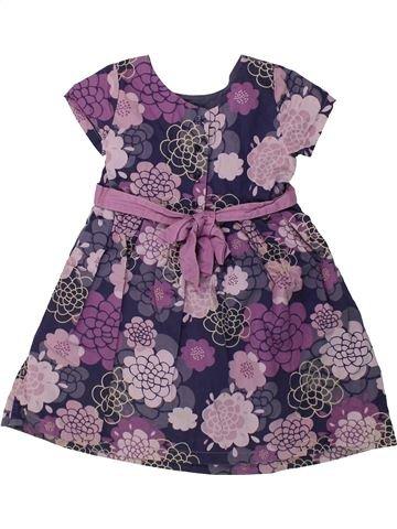 Vestido niña VERTBAUDET violeta 4 años verano #1421579_1