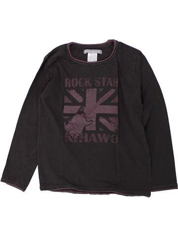 T-shirt manches longues garçon LA REDOUTE CRÉATION noir 6 ans hiver #1421655_1
