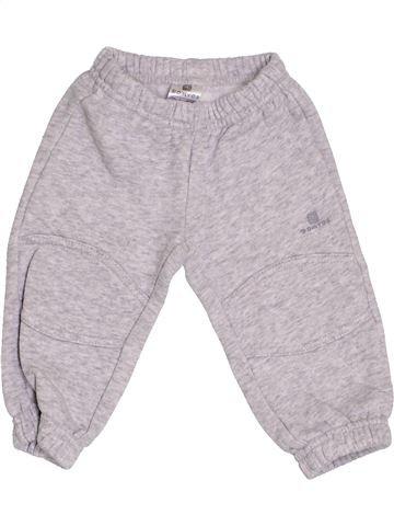 Pantalon garçon DOMYOS gris 6 mois hiver #1421669_1