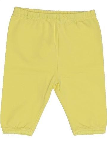 Legging fille GRAIN DE BLÉ jaune 6 mois été #1421670_1