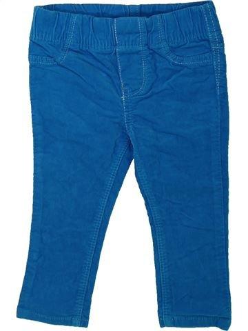 Pantalon fille OSH KOCH B'GOSH bleu 12 mois hiver #1422442_1