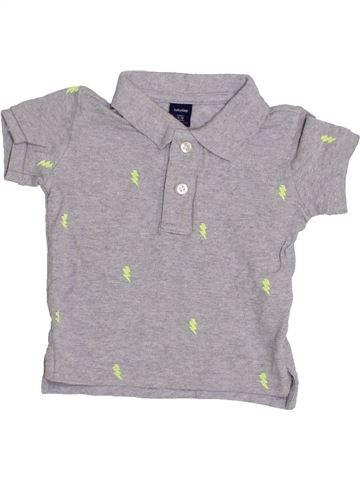 Polo de manga corta niño GAP gris 12 meses verano #1422492_1