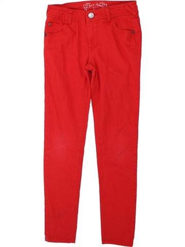 Pantalon fille KYLIE rouge 9 ans été #1422587_1