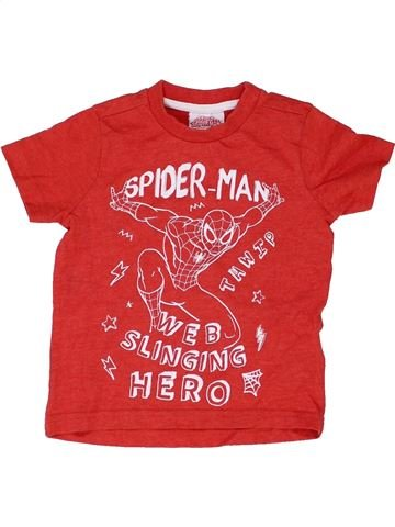 Camiseta de manga corta niño SUPERS HÉROS rojo 18 meses verano #1422618_1