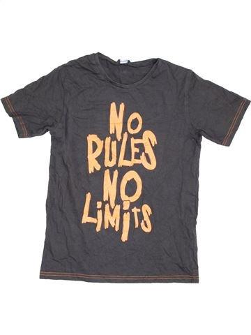 Camiseta de manga corta niño GEORGE marrón 12 años verano #1422690_1