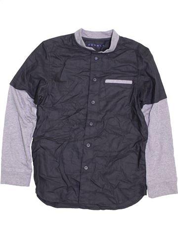 Camisa de manga larga niño NUTMEG gris 8 años invierno #1422773_1