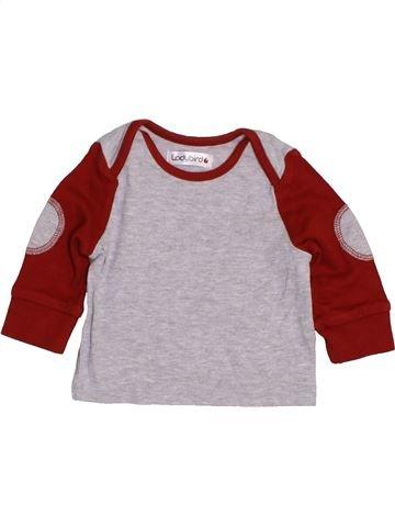 T-shirt manches longues garçon LADYBIRD gris 3 mois hiver #1422923_1